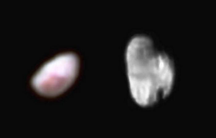 Фотоснимки Плутона: Никта и Гидра.