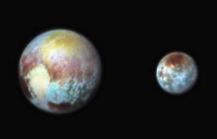 Фотоснимки Плутона: двойная система.
