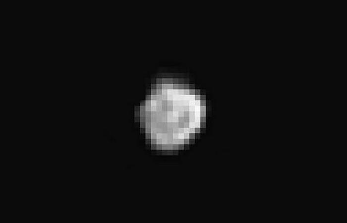 Фотоснимки Плутона: спутник Никта.