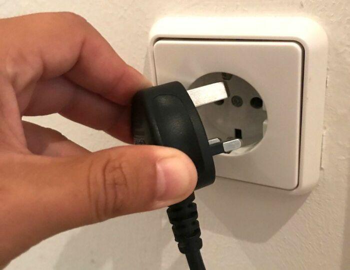 В США есть и розетки на 220 Вольт. |Фото: cutetattoo.org.
