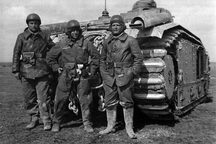 Французы в Первую мировую войну. |Фото: ya.ru.