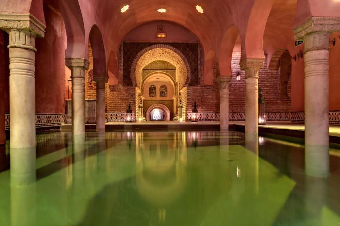 Для некоторых будет открытием, но арабские бани - это римские бани. |Фото: saunapiter.ru.