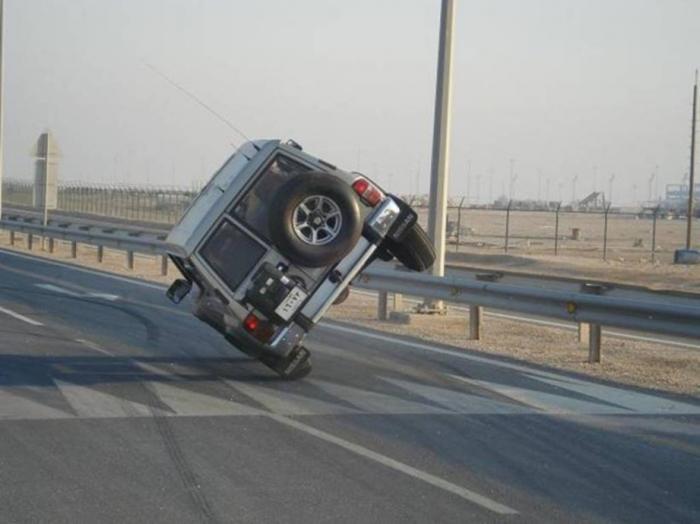Лихачество на дороге снижает ресурс покрышек. |Фото: bezformata.com.