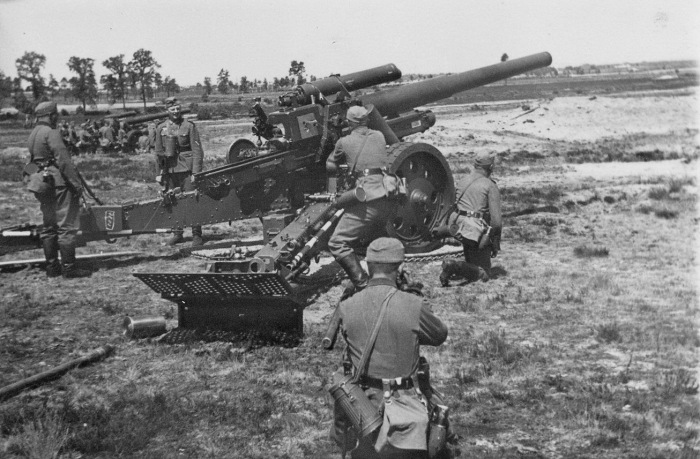 У немцев все было куда лучше с артиллерией. |Фото:  aftershock.news.
