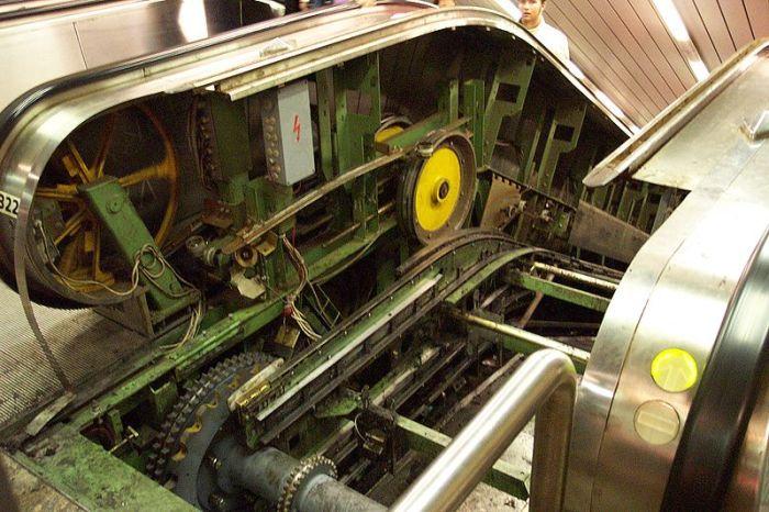 В движение приводится двумя механизмами. ¦Фото: twitter.com.