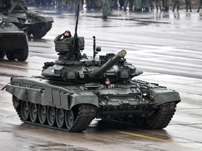 Не ставится дульный тормоз и на современные танки. ¦Фото: goodfon.ru.