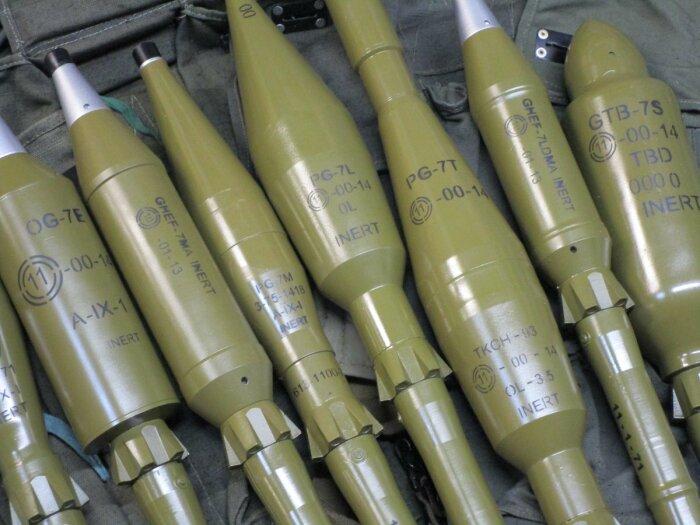 Целый арсенал разных гранат для разных целей. ¦Фото: gunsfriend.ru.