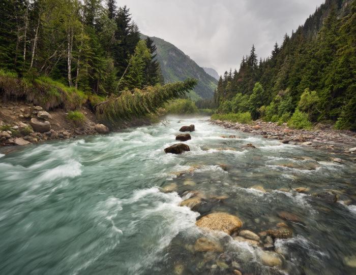 Дождевая и ледниковая вода не содержит соли. ¦Фото: kubanphoto.ru.