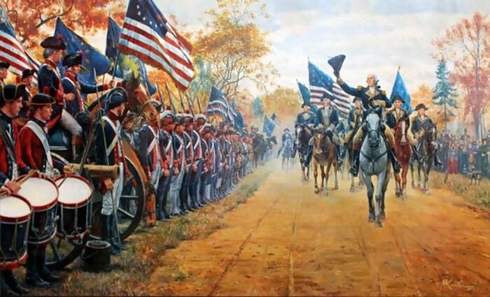 Потом началась Американская революция. |Фото: pinterest.com.