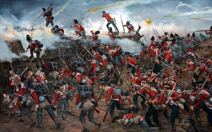 И еще одна война во времена Наполеона. |Фото: pikabu.ru.