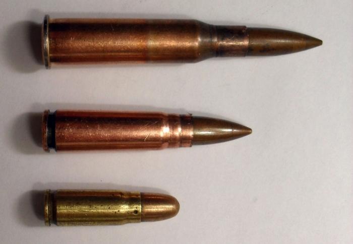 Все это 7.62 мм винтовочные и пистолетный. |Фото: guns.allzip.org.