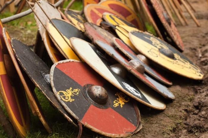 Такой щит мог сделать и сам викинг. |Фото: urlaubsguru.de.