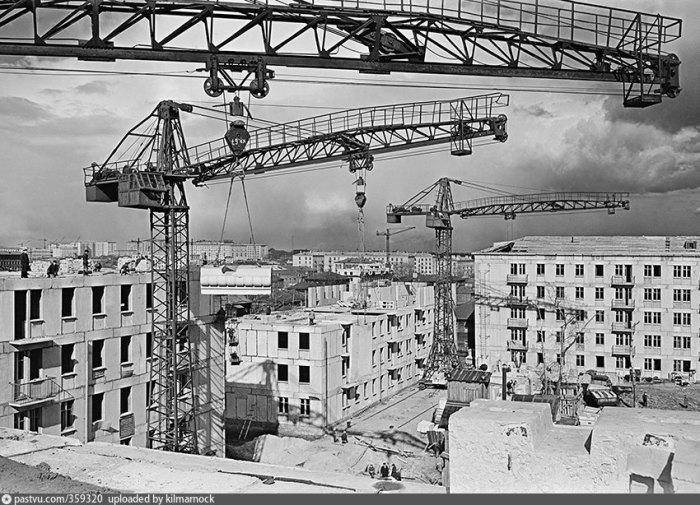 Строительство шло ударными темпами. |Фото: yandex.com.