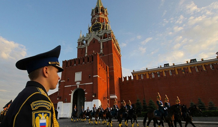 Охраны в Кремле предостаточно. ¦Фото: fr.sputniknews.com.