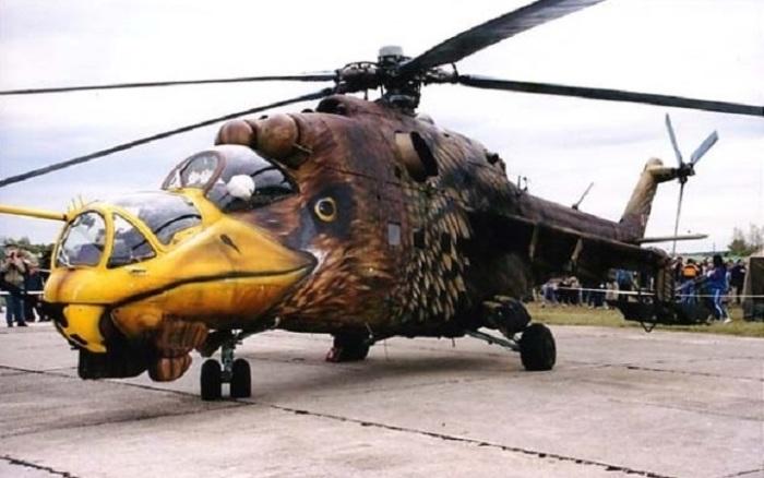 Летающий танк Ми-24 хвалят даже в НАТО.