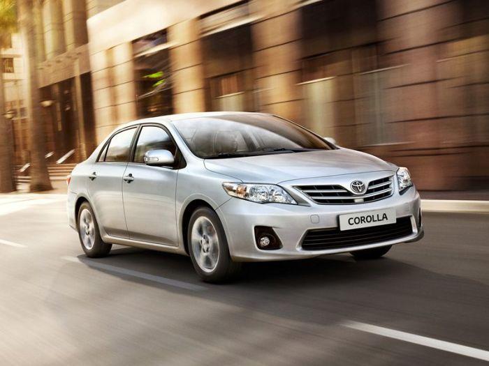 Отличный вариант Toyota Corolla.