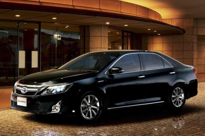 Закмыкает пятерку самых покупаемых Toyota Camry.