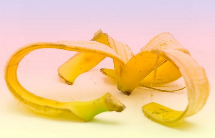 Коварен ядовитый плющ, НО банановая кожура уменьшает зуд.