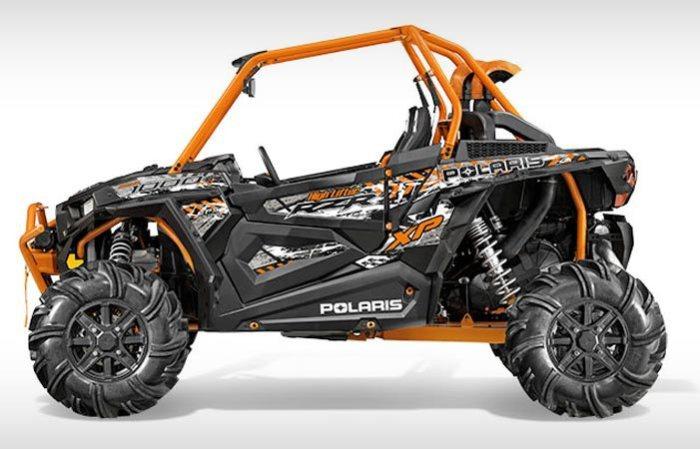 Новая модель Polaris.