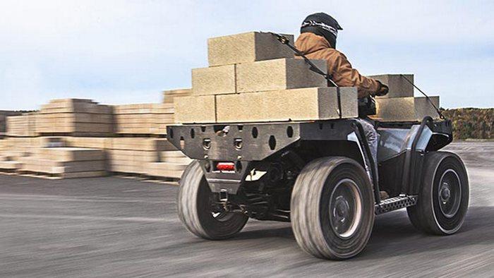 Polaris Sportsman WV850 H.O - настоящий трудяга.