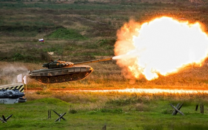 Все танки могут прыгать. |Фото: look.com.ua.