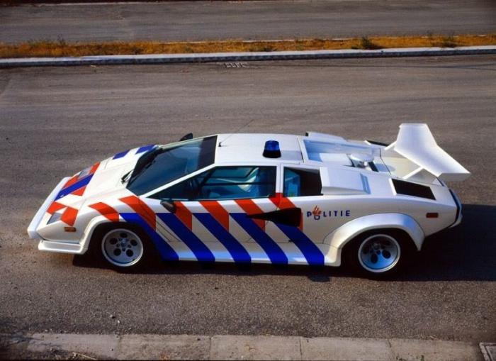 Полицейская версия Spyker C8.
