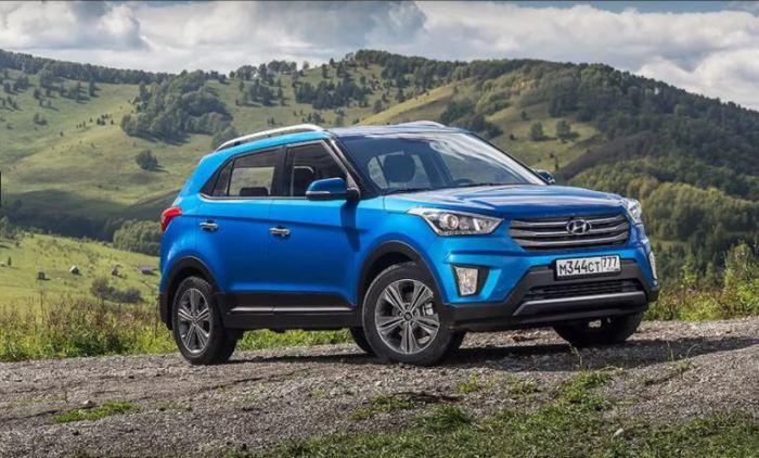 Гордый и мощный Hyundai Creta.