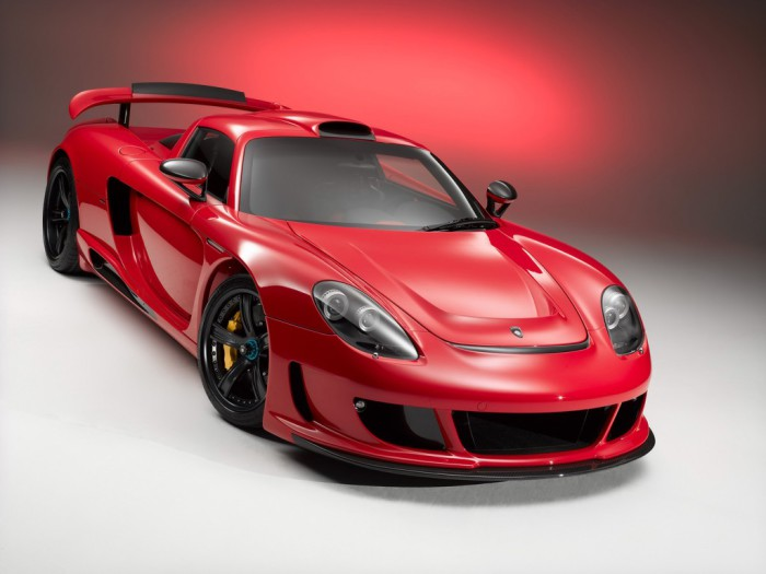 Красный - любимый цвет Porsche.