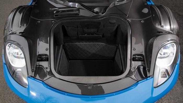 Porsche 918 Spyder Weissach: оригинальный багажник.