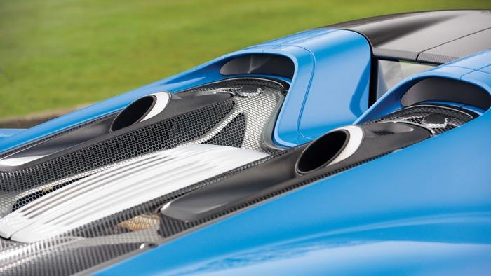 Porsche 918 Spyder Weissach: невероятный дизайн.