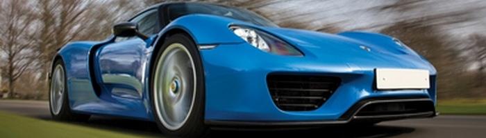 Porsche 918 Spyder Weissach.
