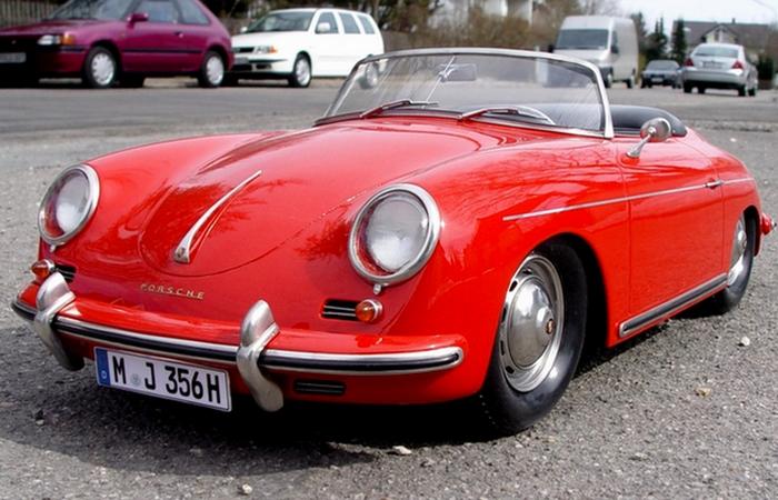 Porsche  модели 356.