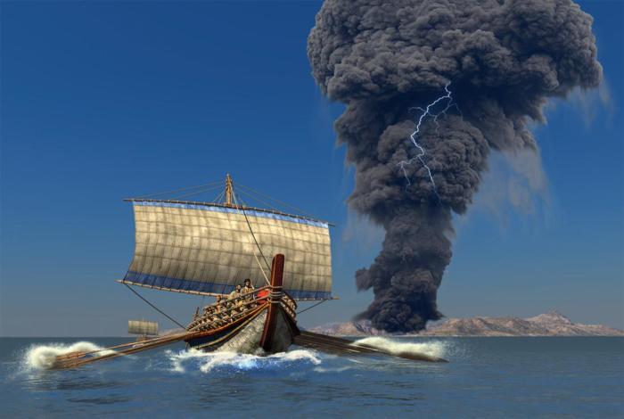 Событие стало прообразом Атлантиды.