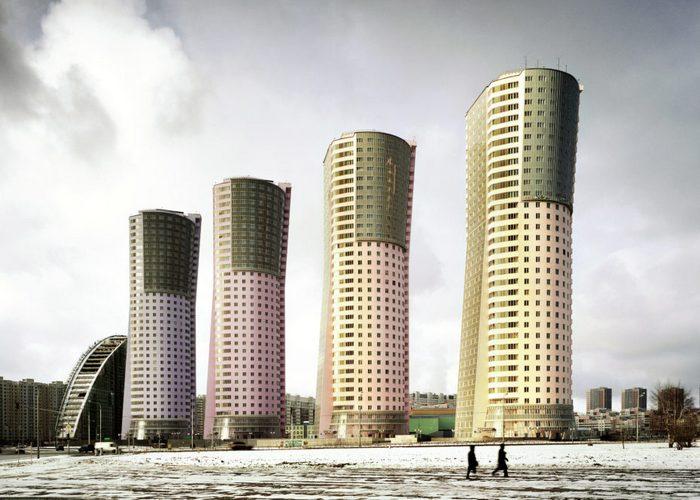 Жилой комплекс «Гранд Парк», Москва.