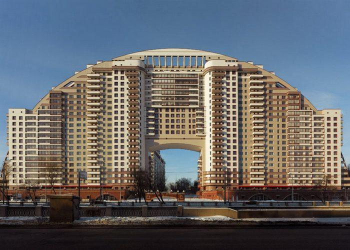 Жилой комплекс «Солнечная Арка», Москва.