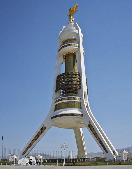 Монумент Нейтралитета, Ашхабад.