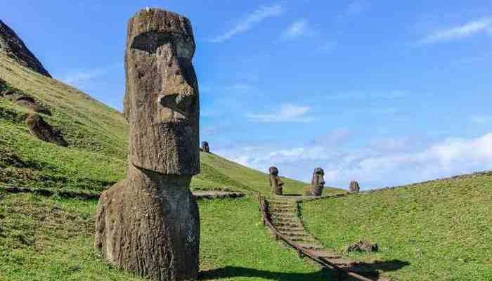 Возможно выжить на острове Пасхи.