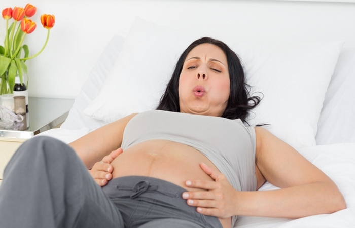 Беременность: схватки после рождения.