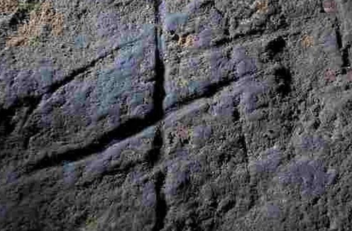 Загадочный пример искусства: искусство пещеры Горам.