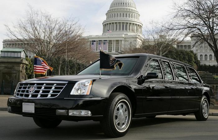 Президентский Cadillac The Beast.