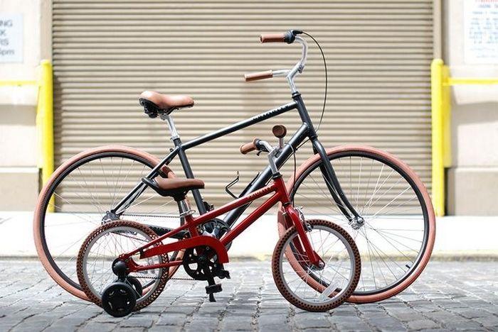 Велосипед с системой безопасности.