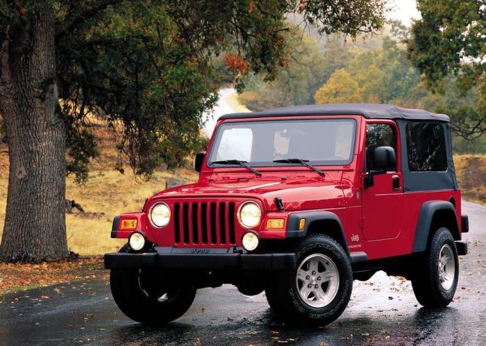 Проблемы есть и у некоторых Jeep.