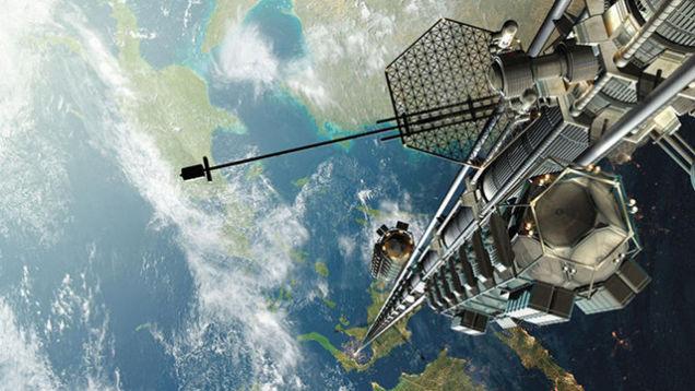 Космический лифт.