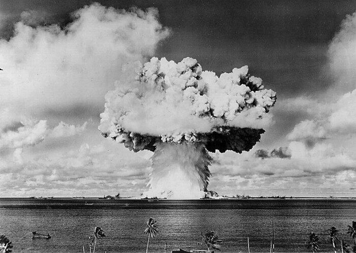 Ядерное оружие стало главным страхом холодной войны.  Фото: fishki.net.