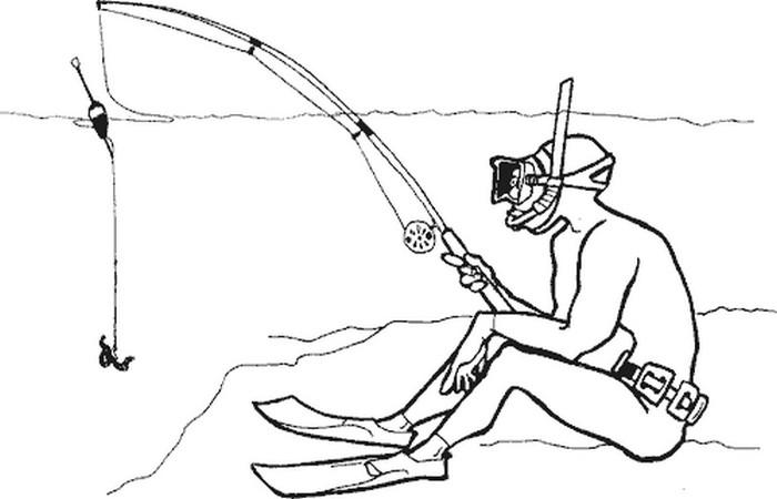 Смешные картинки про подводную охоту, картинки