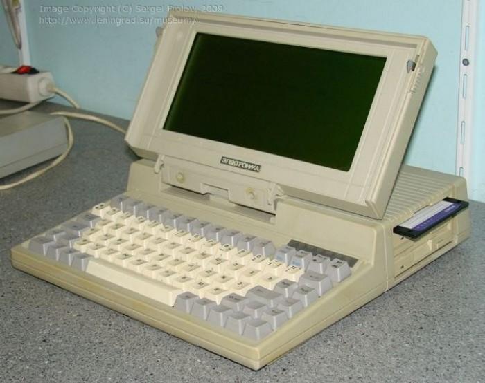 «Электроника МС-1504» - первый советский ноутбук.