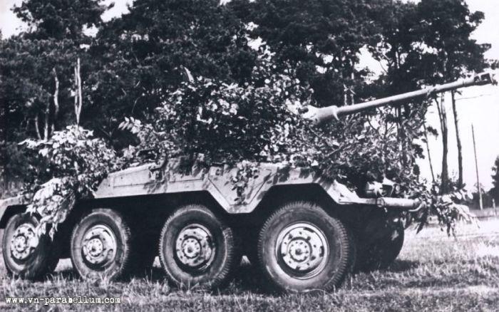 Грозная разведывательная машина Германии. |Фото: enimagenes.com.