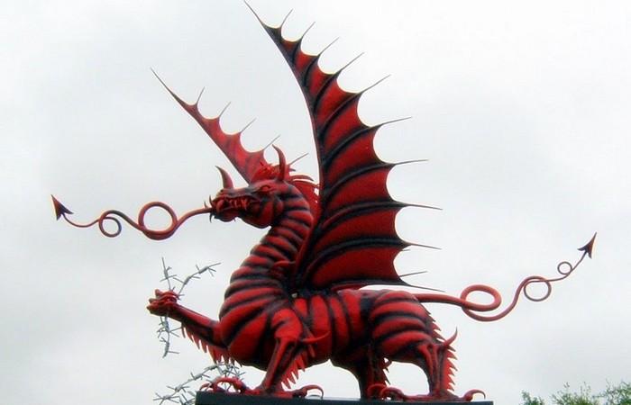 Валлийский Красный Дракон.