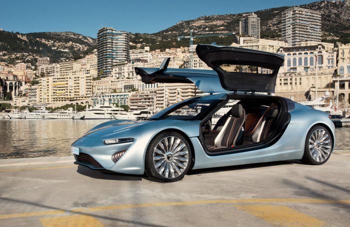 Наноэлектроавтомобиль, работающий на солёной воде.