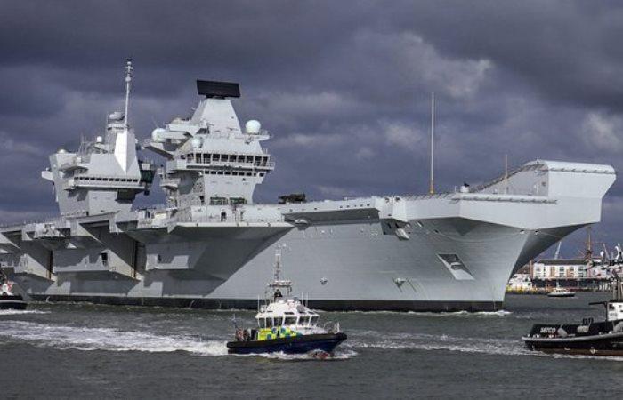 Самый технологичный корабль Великобритании.
